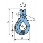 Grade100 European Type Clevis Self-locking Hook CLG