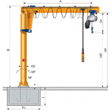 Jib crane CS/VS