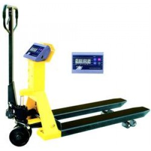 Pallet truck with weigting BFC