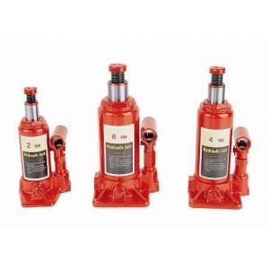 Vienpakāpes hidrauliskais pudeli domkrats