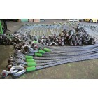 Steel wire rope structure 6x19+FC